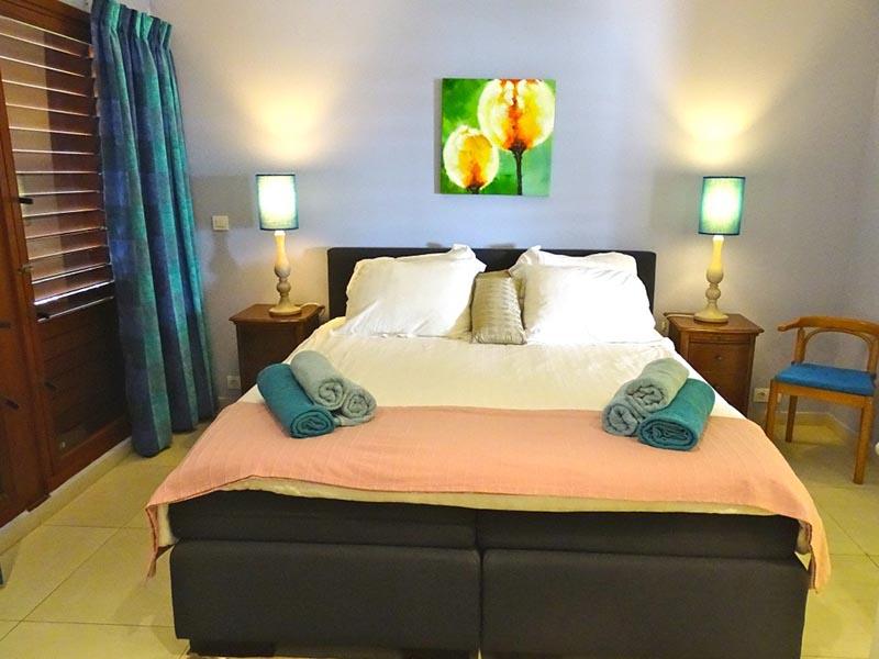 Caribbean Ocean Front - bedroom garden view