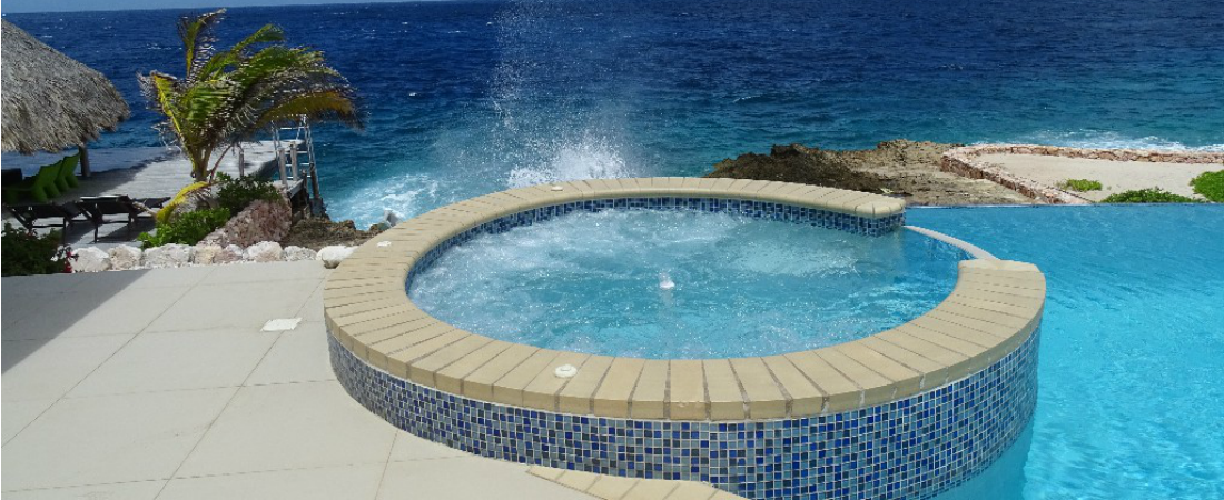 jacuzzi villa with sea - photo #6